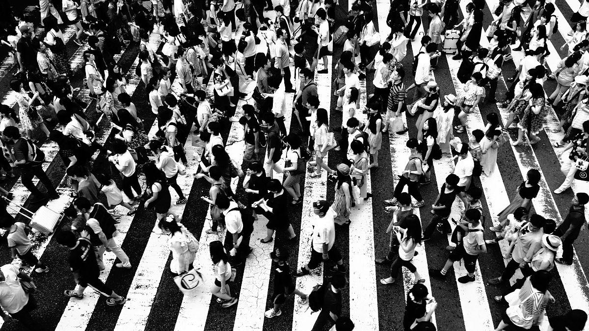 都市艳福行全文阅�_人,运动模糊,条纹,男人,拥挤的,都市风光,保护工作服,斑马线,人行横道