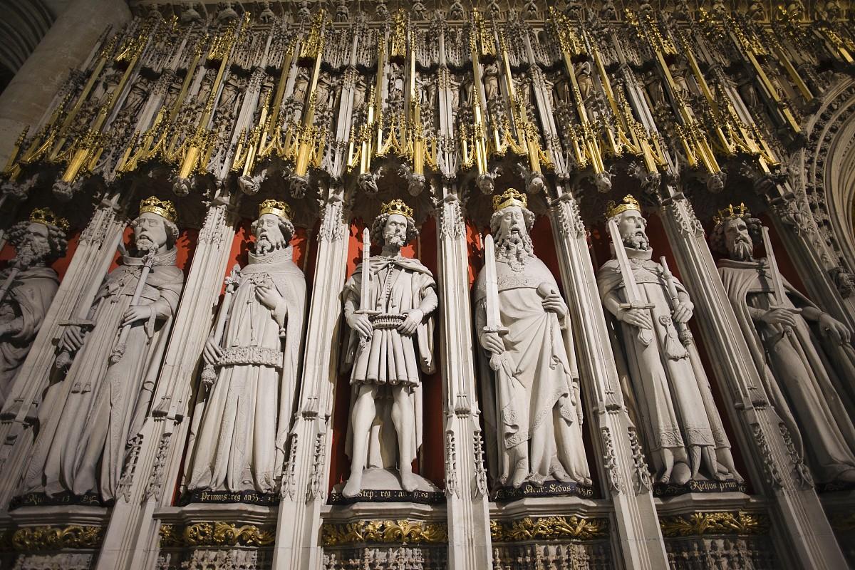 英格兰,大教堂,休闲活动,雕像,摄影,与摄影有关的场景,北约克郡,欧洲图片
