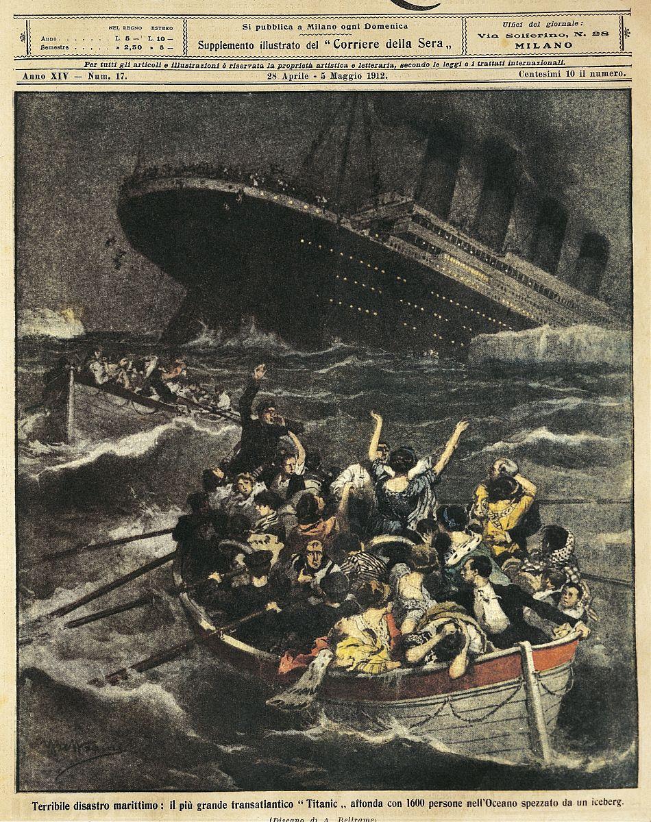 大不列颠沉没客轮泰坦尼克号图片