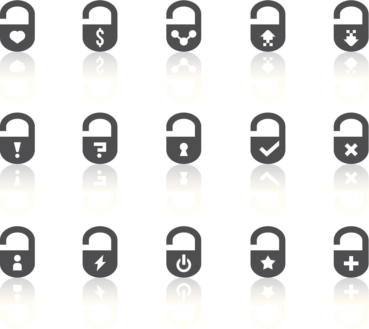 沟通,健康保健,黑白图片,计算机制图,锁,黑色,十字形,星形,开关,问号图片