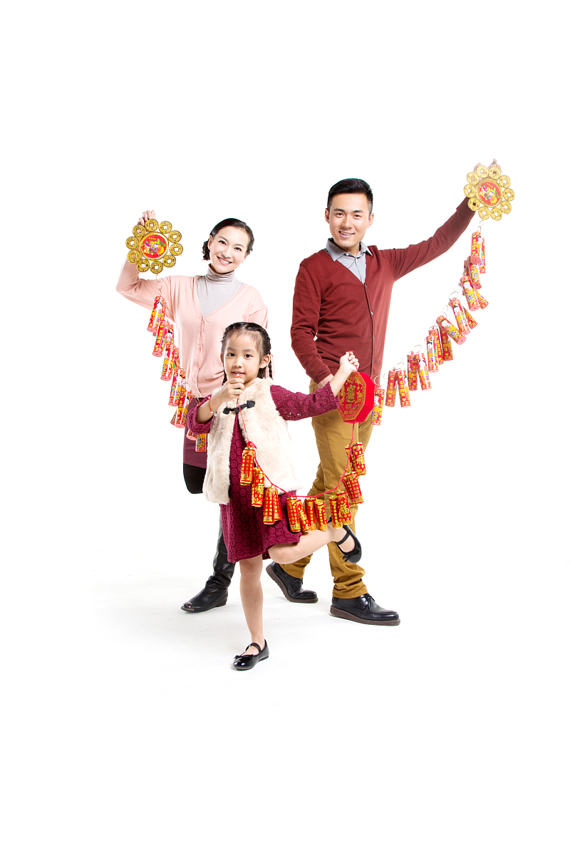 快乐,中国文化,表现积极,幸福,欢乐,活力,传统,兴奋,亲情,家庭,全家福图片