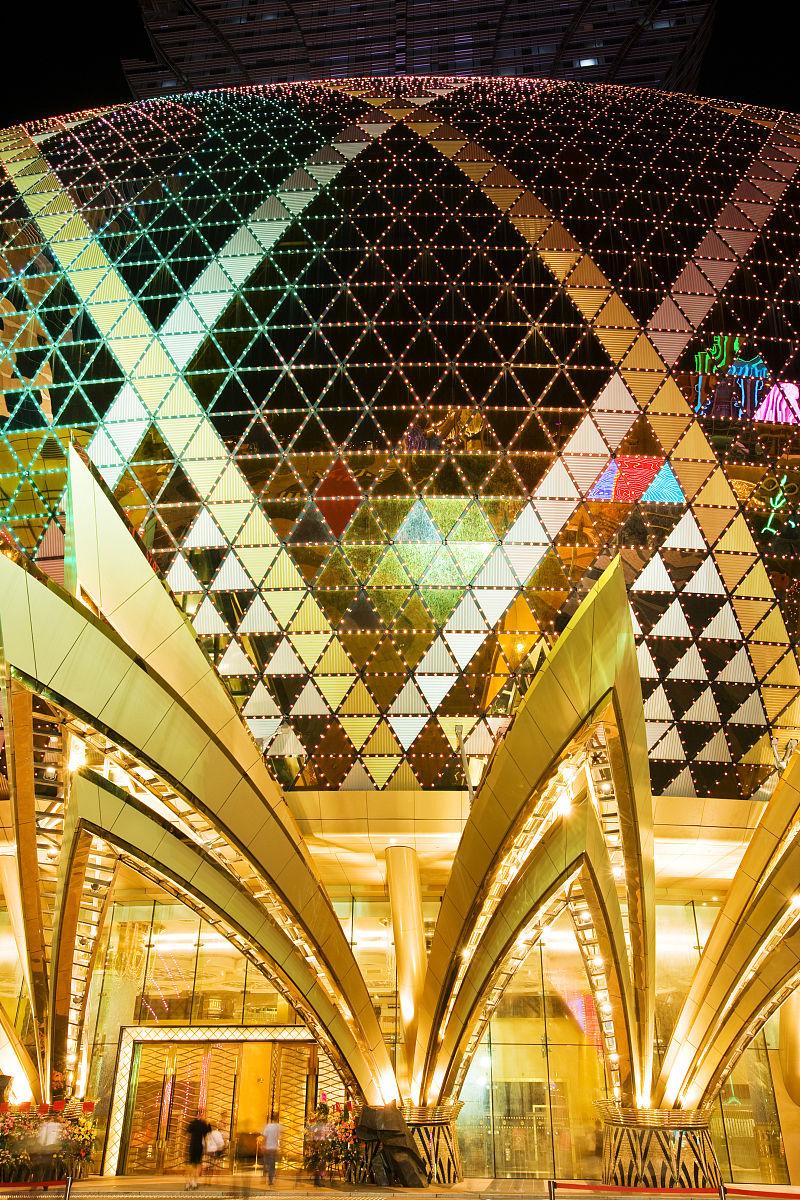 太空时代的穹顶的细节新葡京娱乐场.