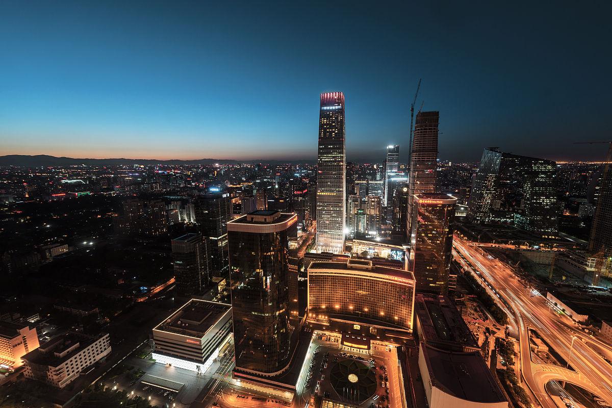 北京市���k�llyc.�`���%_北京的城市天际线