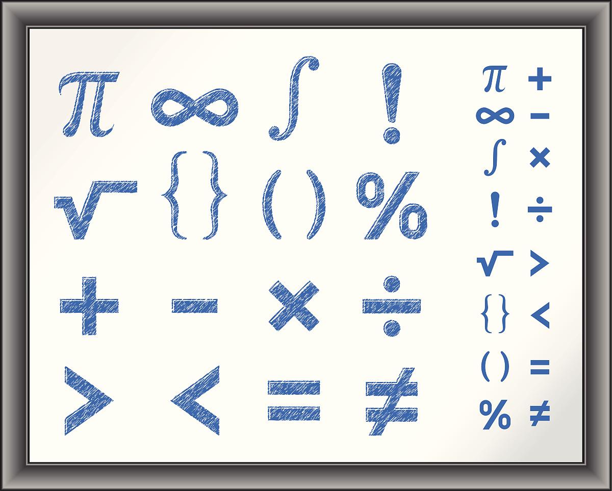 数学符����9�$9�9f�j_分离,符号,教育,计算机制图,考试,设计,学习,知识,百分比号,数学符号