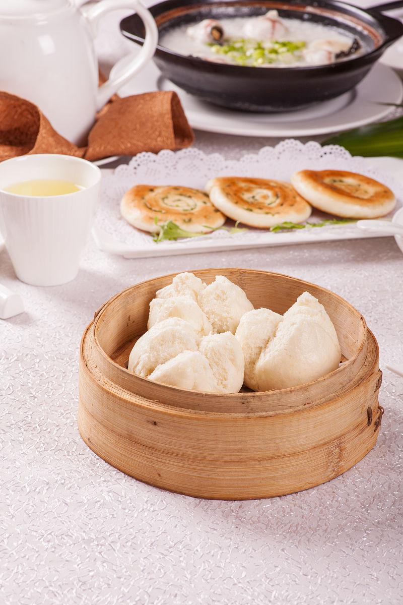 广式茶点,叉烧包图片