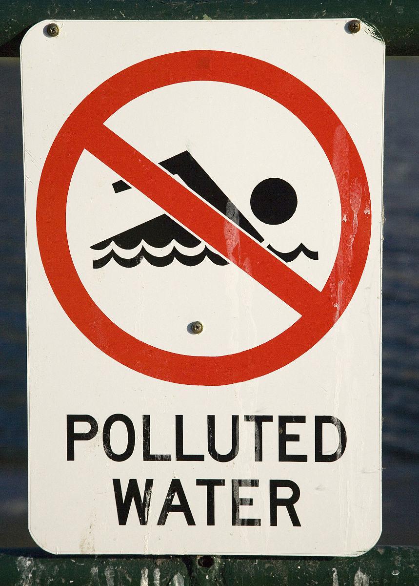 利�9.���zh�c._水污染的迹象,托伦斯湖,阿德莱德,南澳大利亚州,澳大利亚