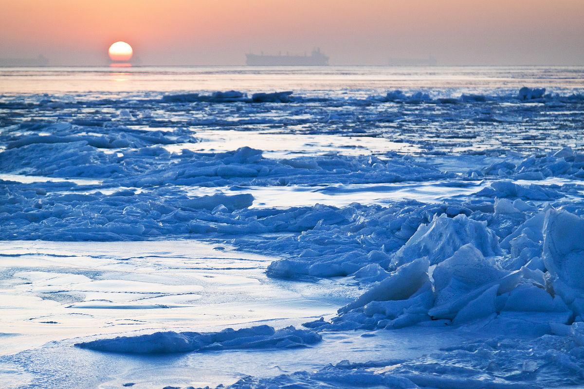 冰海小粹�my�b�m�_渤海海冰