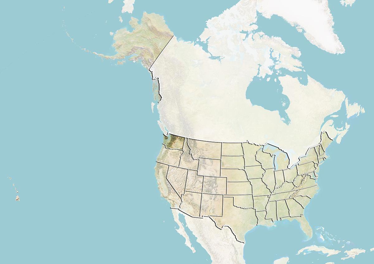 州�9k�yley�.���X{�zy_美国和华盛顿州地势图