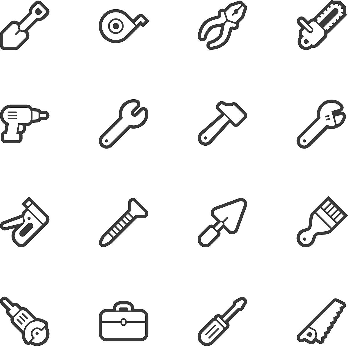 旋转刀片,画笔,黑白图片,矢量,绘画作品,指甲,自己动手,网络表情,趾甲图片