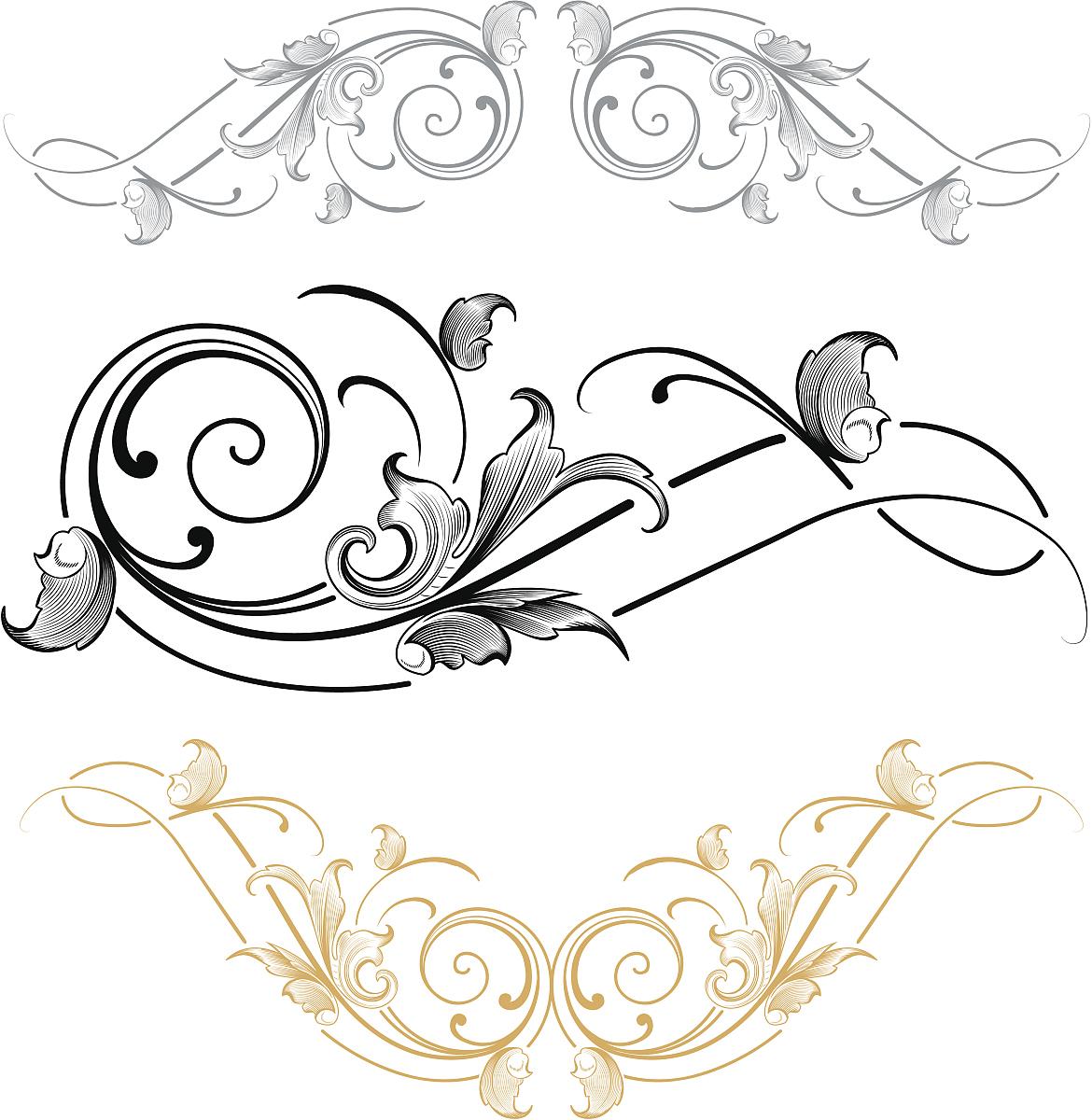 雕刻术,华丽的,过时的,古董,花纹,矢量,阿拉伯风格,装饰镜板,花体图片