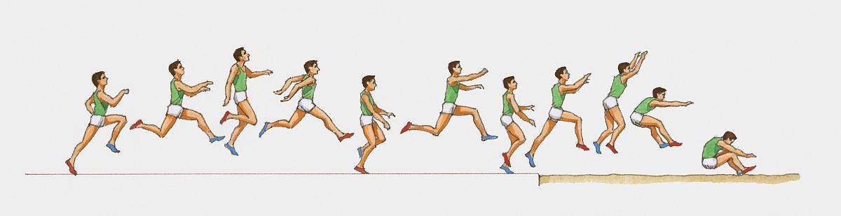 三级跳怎么跳_男子三级跳远运动员参赛插图序列