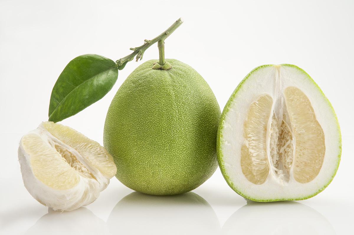 果肉,柚子图片