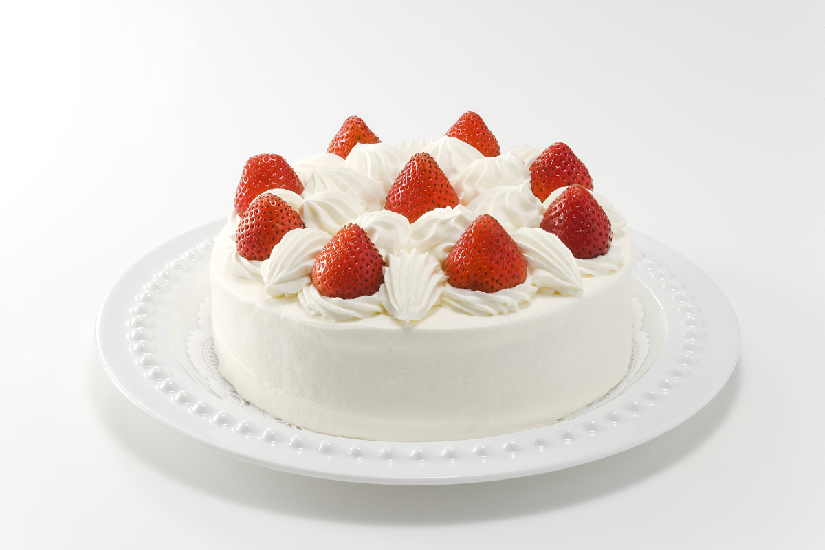 纯奶油蛋糕_strawberry和奶油蛋糕