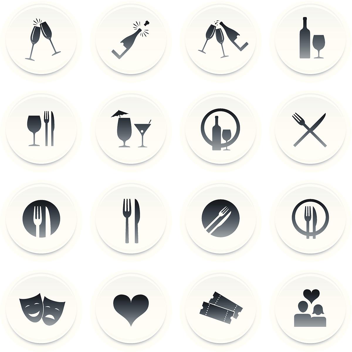好客/餐饮图标图片