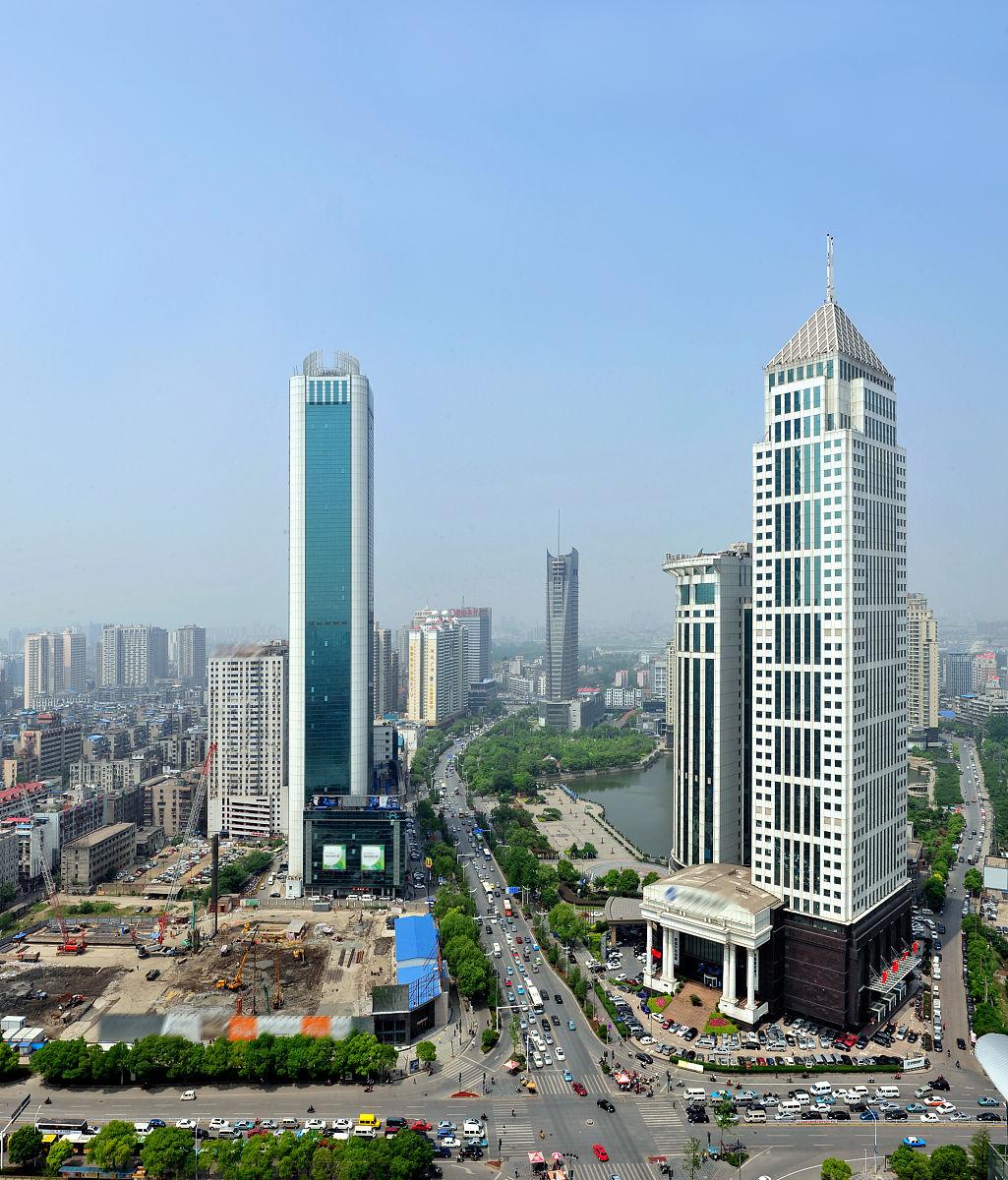 湖北省武汉汉口金融街图片