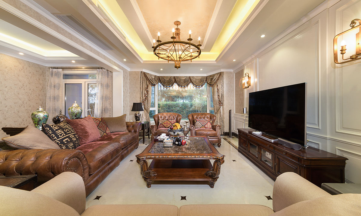 美式装修风格客厅图片