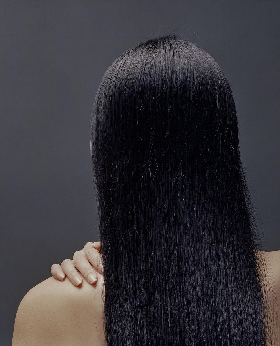 中国人,头发长度,长发,黑发,仅女人,仅一个女人,头和肩膀,发型,直发图片