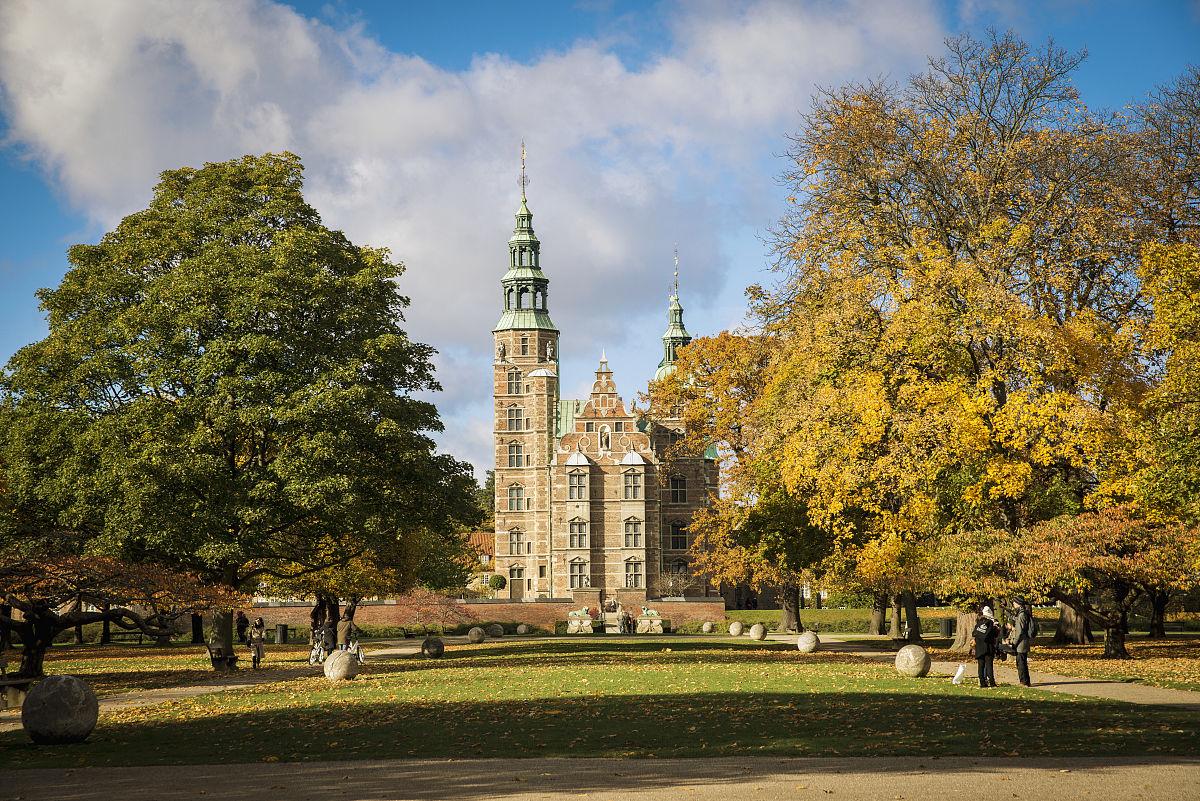 丹麦,观哥本哈根罗森堡宫图片
