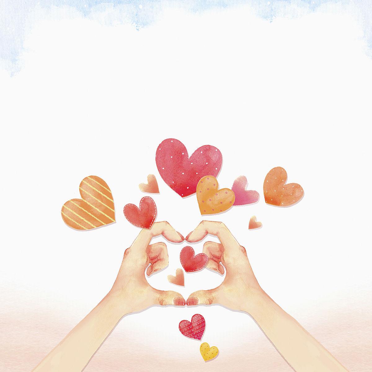 与爱情和礼物相关的模板图片