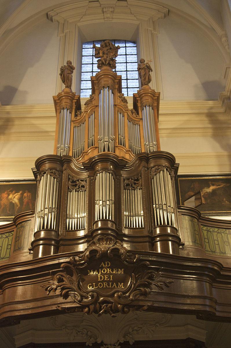 布鲁日,教堂,管风琴,在美国,比利时图片