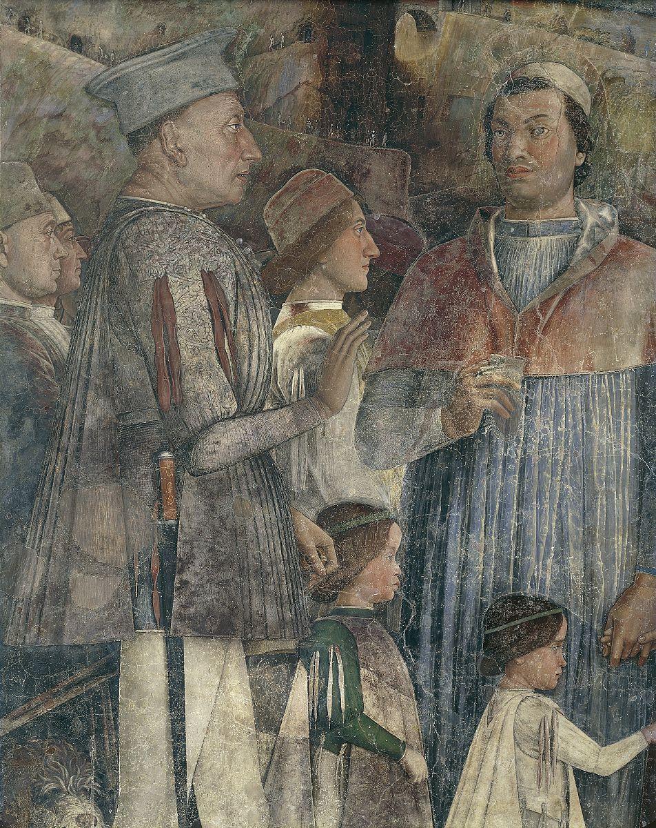 路易斯二世,红衣主教弗朗西斯科,francesco ii和sigismondo gonzaga图片