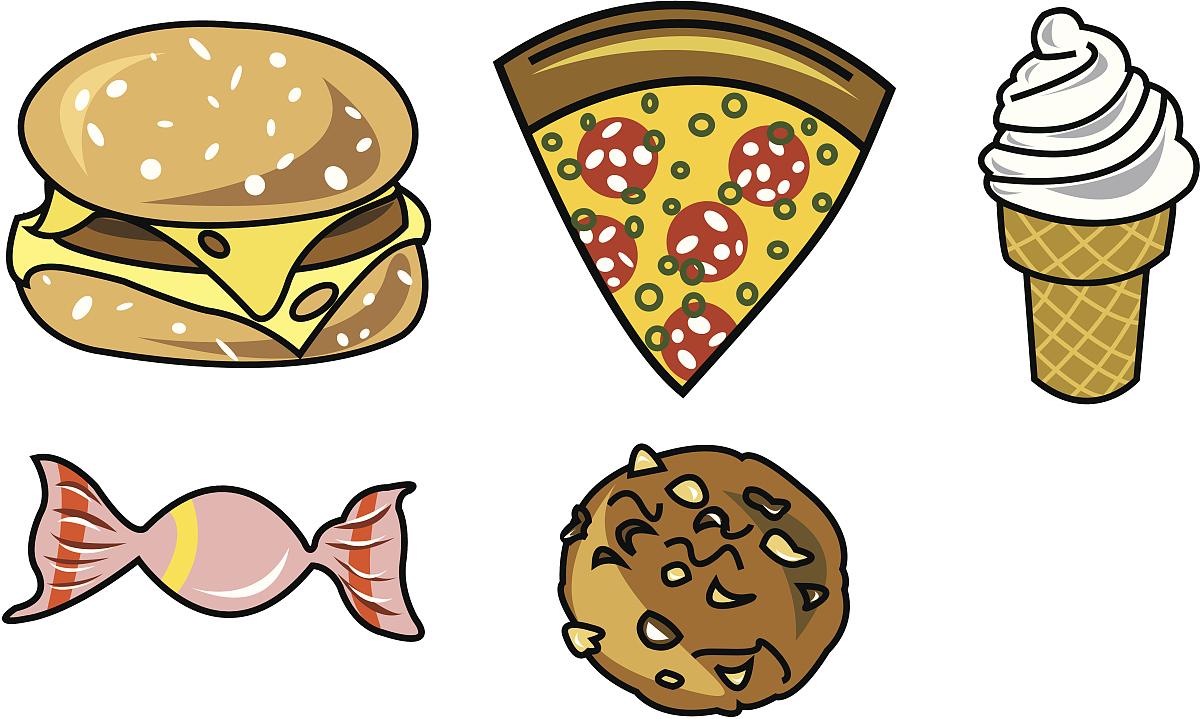 过时的,烹调,午餐,食品,司仪,迅速,快餐店,冰淇淋店,麦当劳,糖果,动