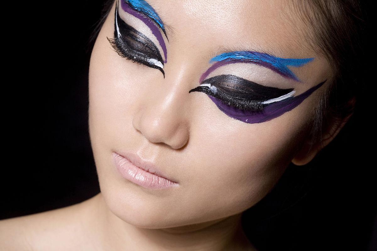 美,时尚,中国人,女人,信心,魅力,人的脸部,皮肤,彩妆,眼妆品,美女,概图片