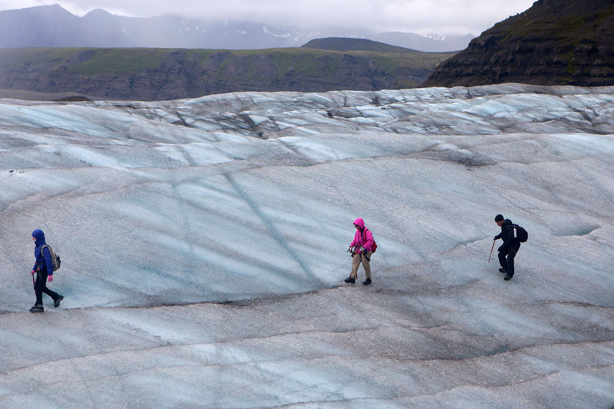 白昼,冰,冰河,国家公园,彩色图片,多云,瓦特纳冰川国家公园,全球变暖图片