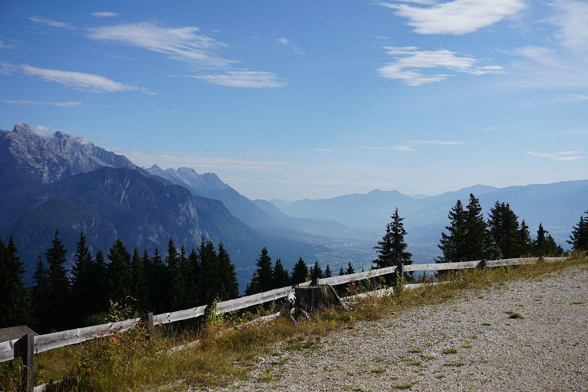 innvalley从蒂罗尔州rosskogelhütte