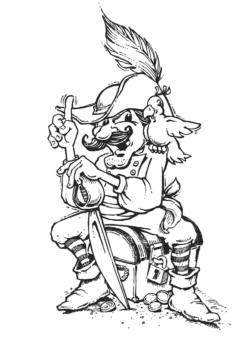海盗和鹦鹉_海盗和鹦鹉