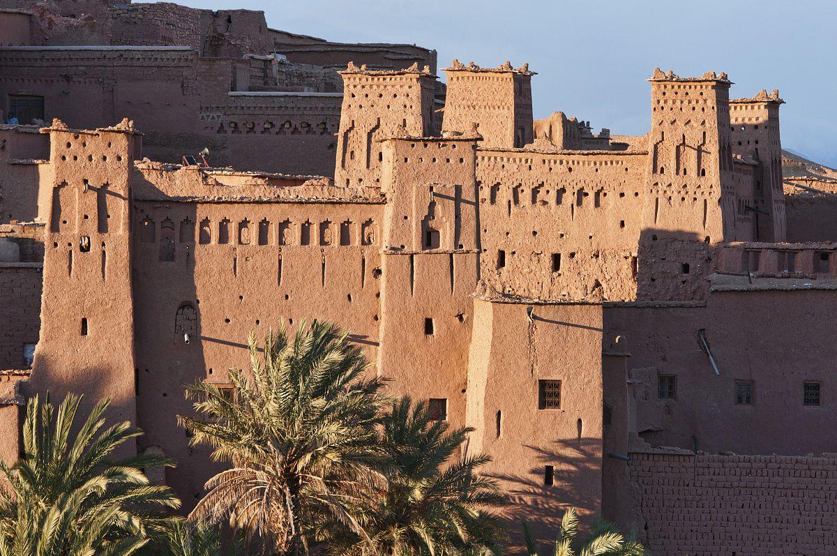 ait benhaddou古城堡,联合国教科文组织世界遗产,摩洛哥图片