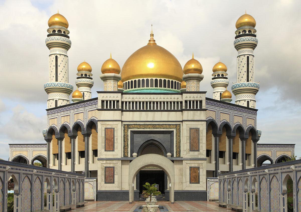 亚洲色囹il�(���_亚洲,文莱,gadong,jameasr hassanil bolkiah,清真寺