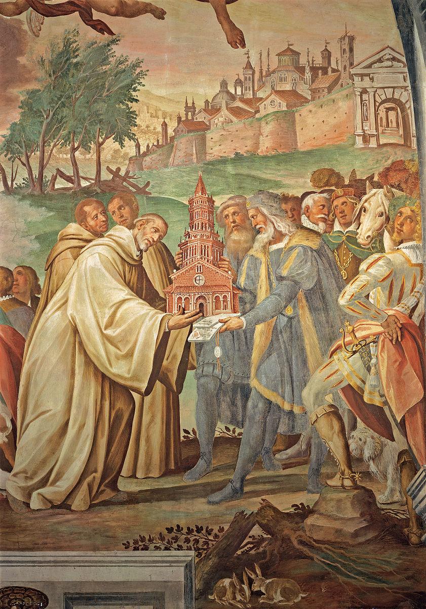 曼弗雷德archinto给st克莱尔沃的伯纳德的土地上兴建的修道院被
