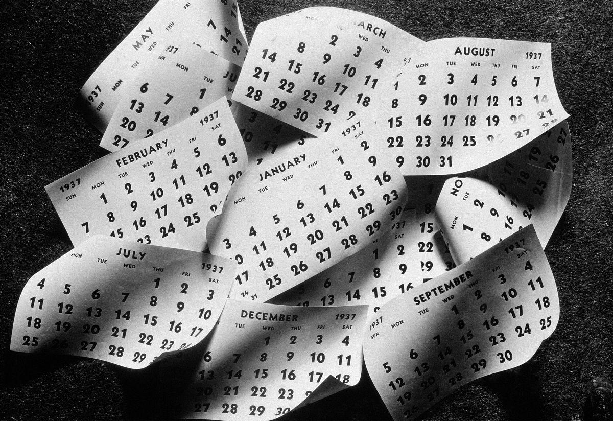 时间,1930年-1939年,财务数据,时光飞逝,堆,无人,黑白图片,水平画幅图片
