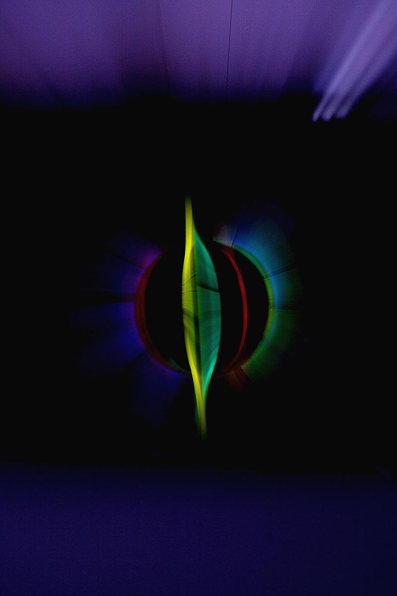 彩光形成圆图片