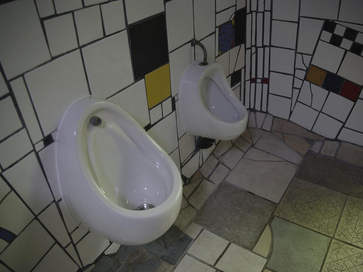 艺术的公共厕所,卡瓦卡瓦,北岛,新西兰图片