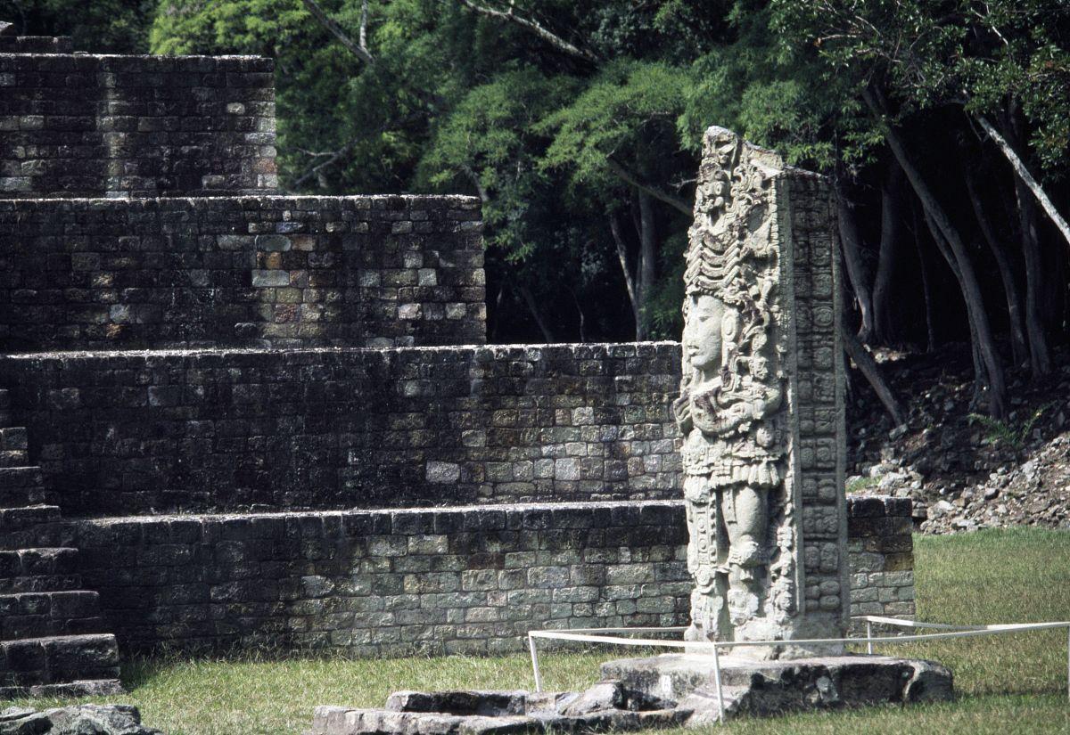 王䲹a��!n���[��X�_石碑一个致力于王uaxaclajuun ub\'aah k\'awiil(695-738 ad),copan
