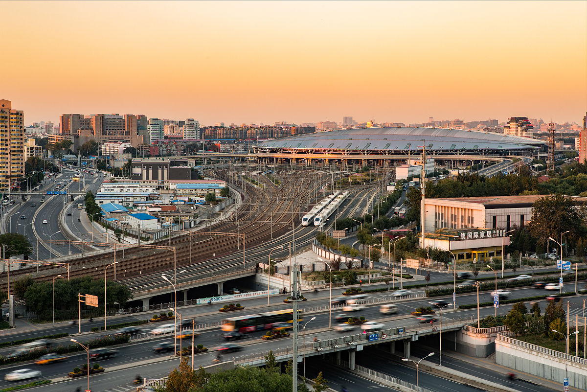北京乹a`�ad�n�_对中国的高速铁路鸟瞰(crh)在北京