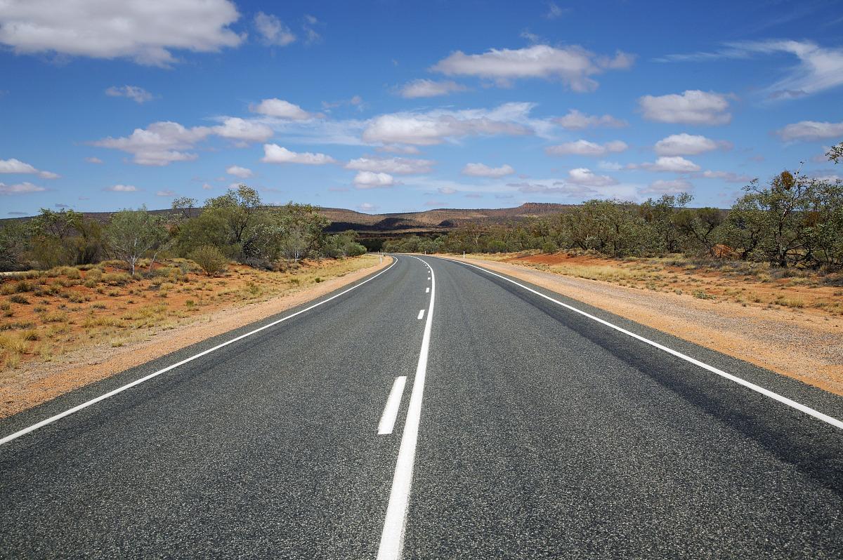 路�_公路,watarrka国家公园,北领地,澳大利亚