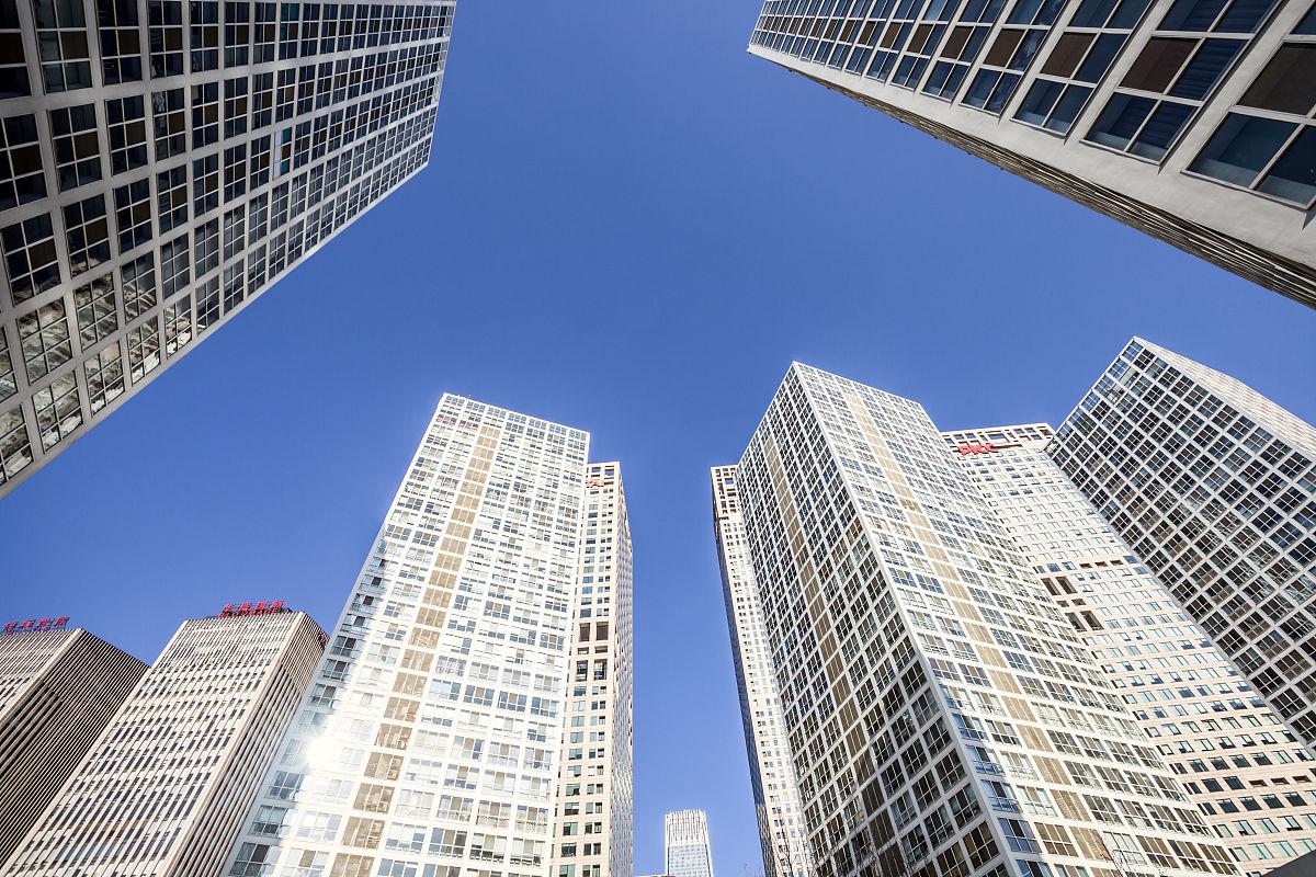 北京cbd建筑群图片