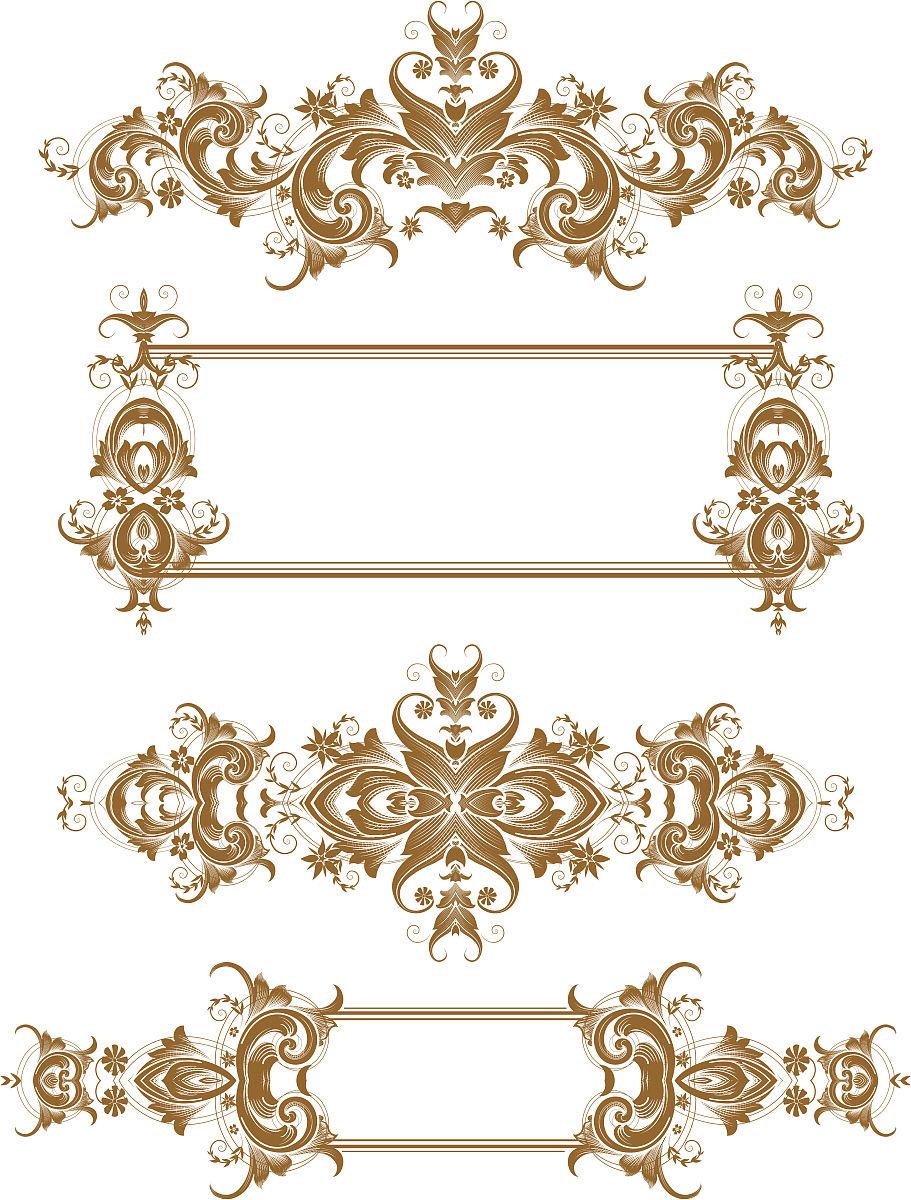 缠绕,雕刻图像,古董,留白,花纹,矢量,阿拉伯风格,装饰镜板,花体,漩涡图片