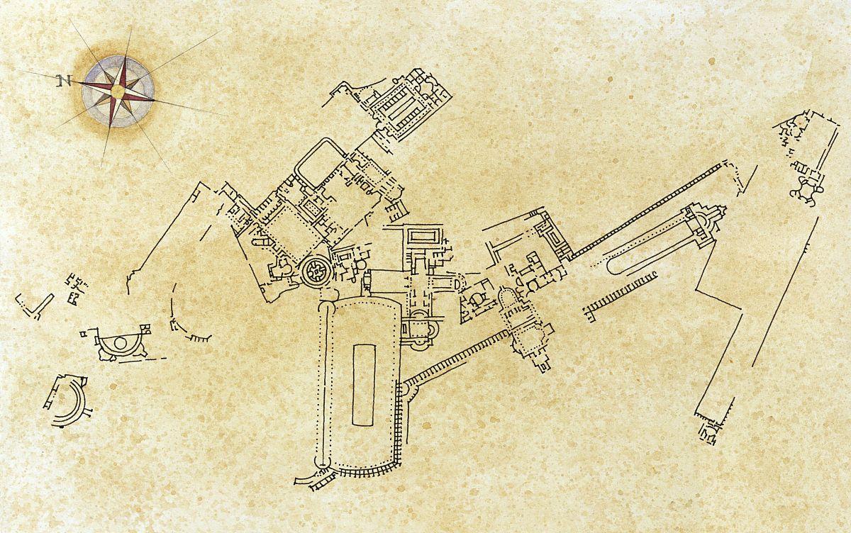 历史,建筑,水平画幅,全身像,宫殿,建筑特色,航拍视角,地图,意大利图片