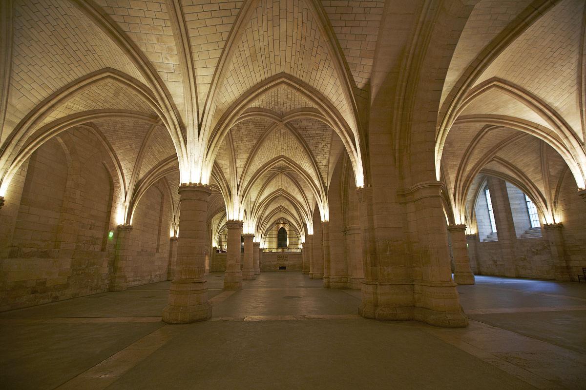 探险,历史,建筑,水平画幅,室内,宫殿,中世纪时代,柱子,法国,成一排图片