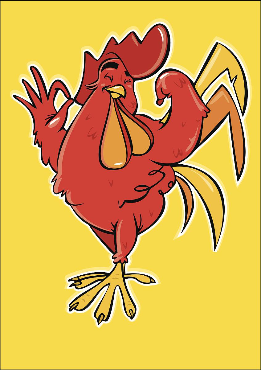 强烈的�y`�K���_强烈的红公鸡