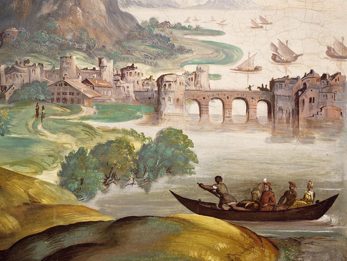 癹n��o.�in9i)�l.�n��f�x�_padovano(主动1537-1549),壁画,霍尔凯撒,villa godi malinverni(联合