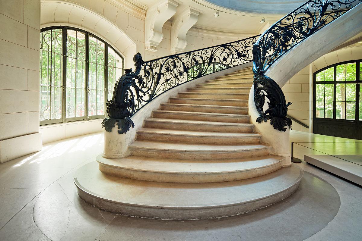 新的,转,大理石装饰效果,漩涡形,摄影,透视图,宫殿,踏步,时尚,室内图片
