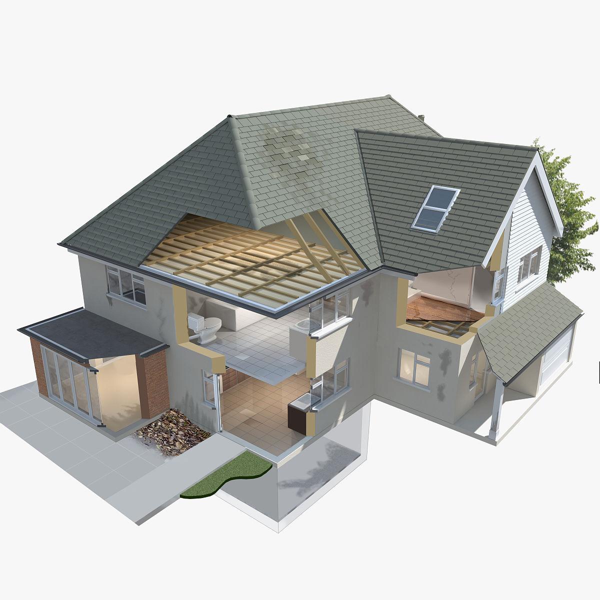 模型,问题,建筑,建筑业,水平画幅,影棚拍摄,房屋,计算机制图,屋顶图片