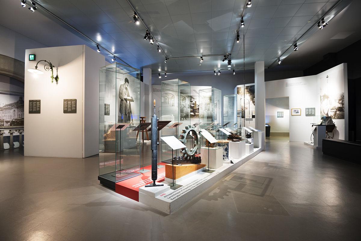 馆_欧洲,瑞士,瑞士首都伯尔尼市爱因斯坦博物馆内historiches博物馆