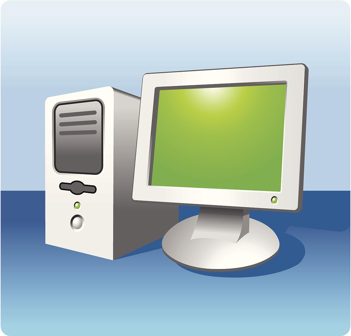 人造物,塔,显示器,台式个人电脑,平坦的,电器,无人,计算机,图像图片
