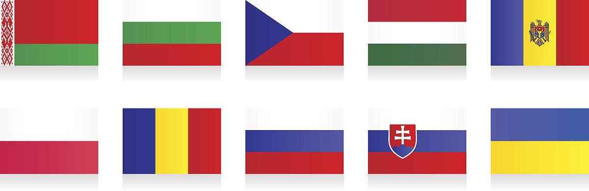 保加利亚,捷克共和国,乌克兰,全景,计算机图标,东欧,波兰国旗,俄罗斯图片